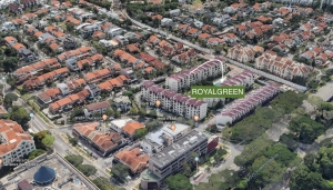 ROYALGREEN Condo Showflat Location and Opening Hours